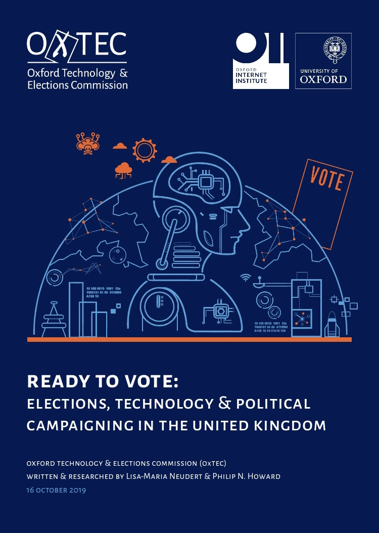 Ready to Vote: Elections, Technology and Political Campaigning in the United Kingdom