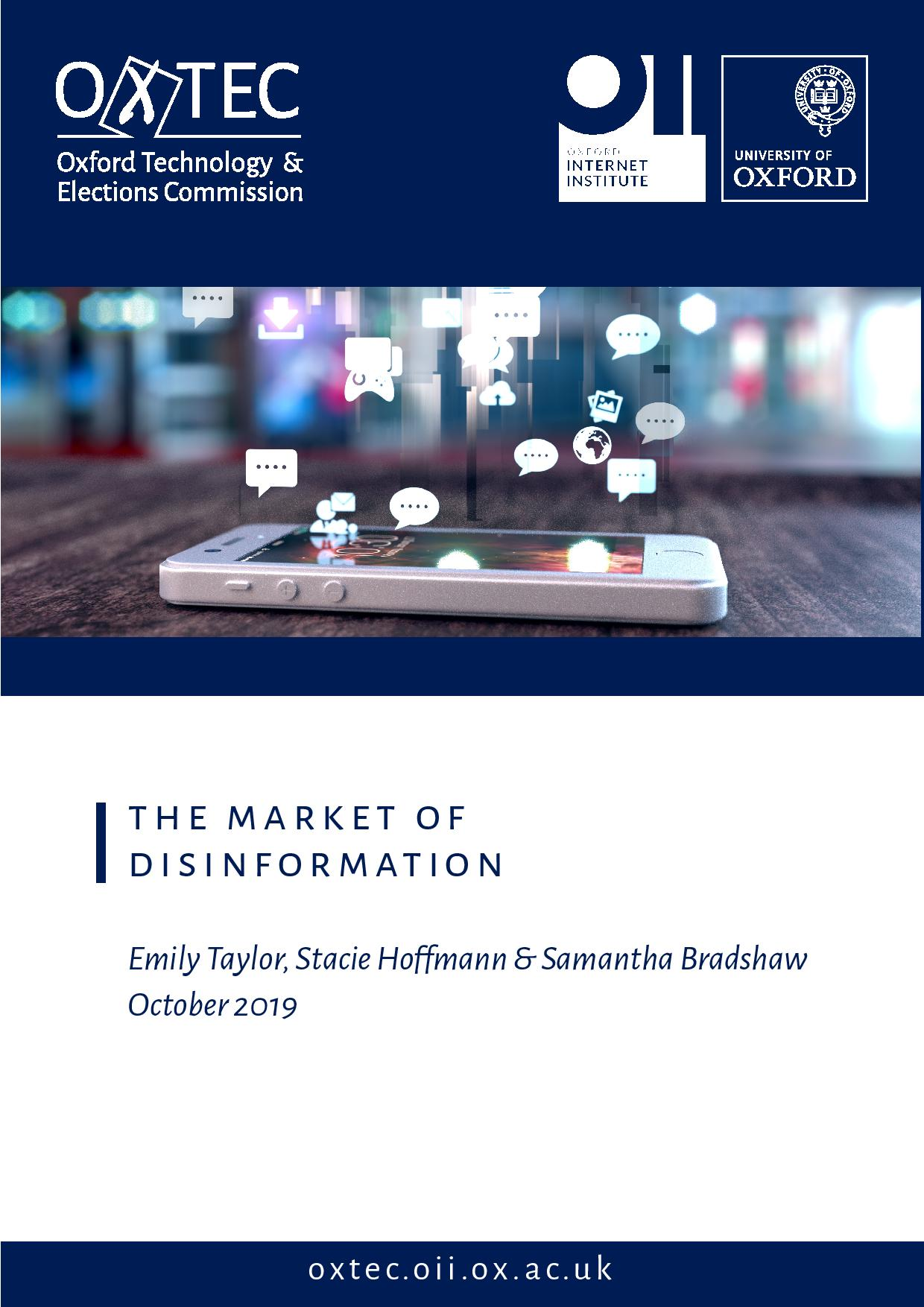 The Market of Disinformation